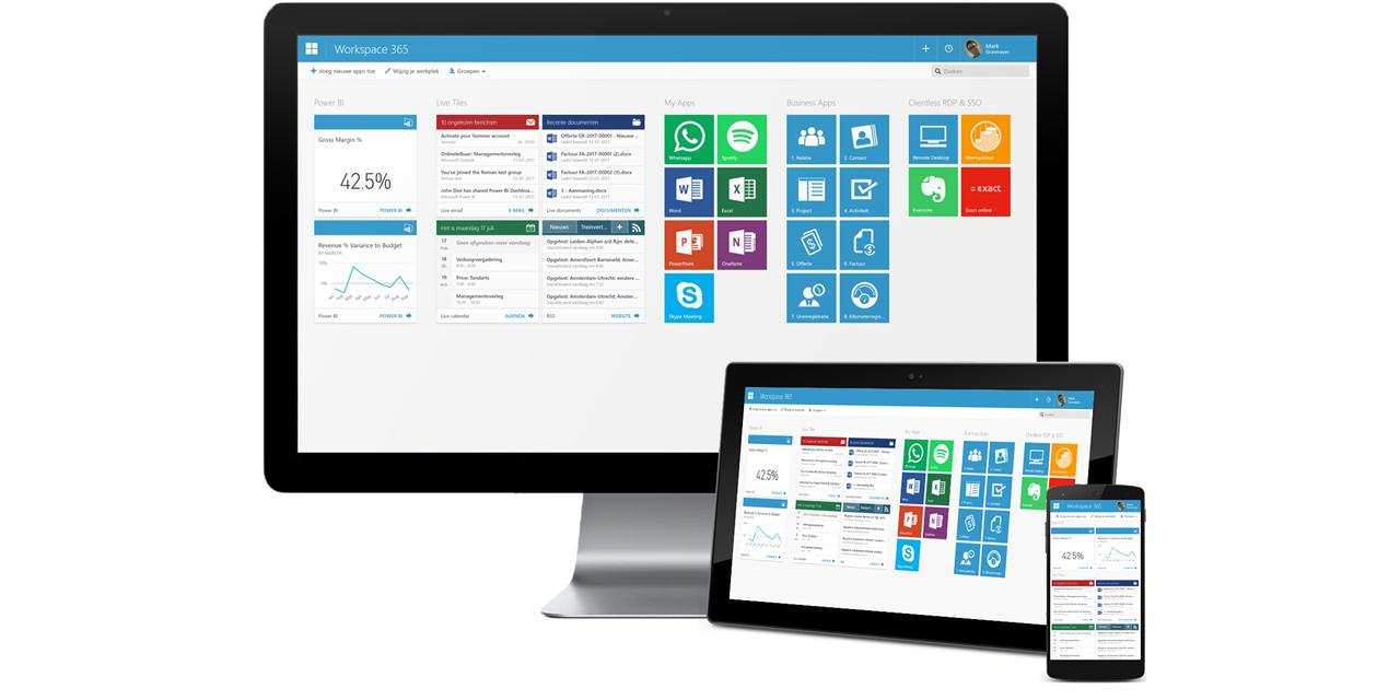 Veilig en flexibel werken met Workspace 365