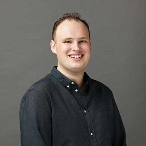 Dit is onze collega Anton van de afdeling Staff