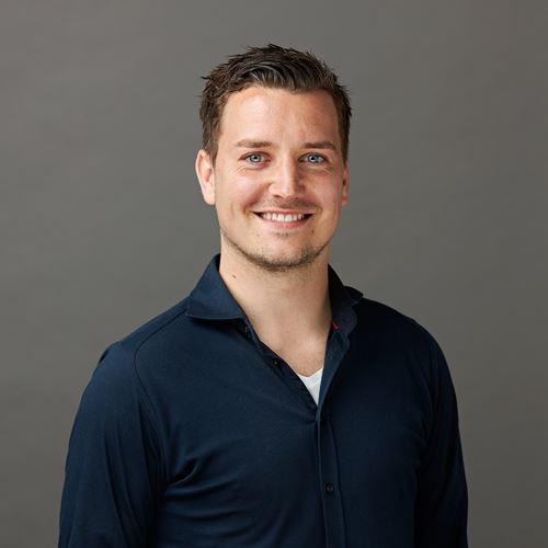 Dit is onze collega Douwe van de afdeling Marketing & Sales