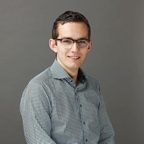 Dit is onze collega Jonathan van de afdeling Development