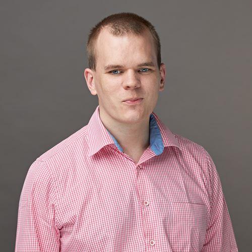 Dit is onze collega Leonard van de afdeling Development