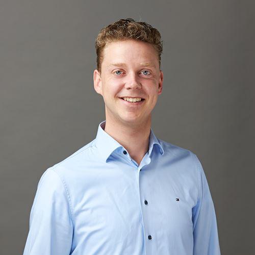 Dit is onze collega Martijn van de afdeling Innovation